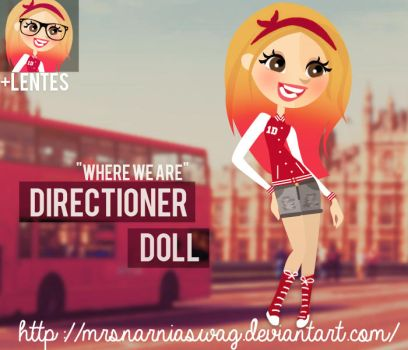 'Where we are' - Directioner doll by MrsNarniaSwag