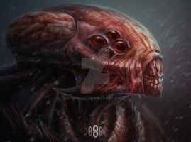 MEAT CREATURE by S88ART