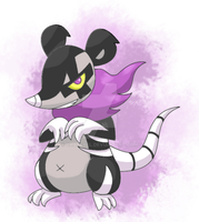 Necroposs fakemon by Charenel