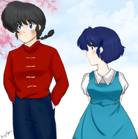 Ranma and Akane - just so long as you realize by AngieSan