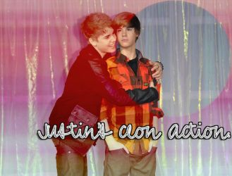 Justin's clon Action by withSWAG