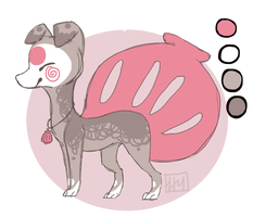New character: Oyster Finnedyr by Sugar-Dino