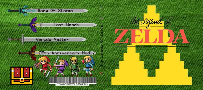 LoZ CD Case: Front and Back by RhymesWithSatan
