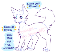 p2u canine base (+different options!) by pomkisses
