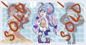 { OPEN 1/3 } Adoptable #1 by WeisOut