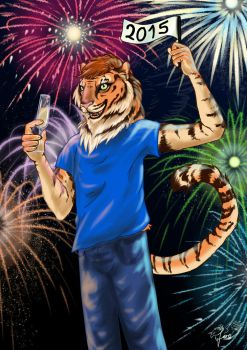 Happy New Year! by wolfgryph