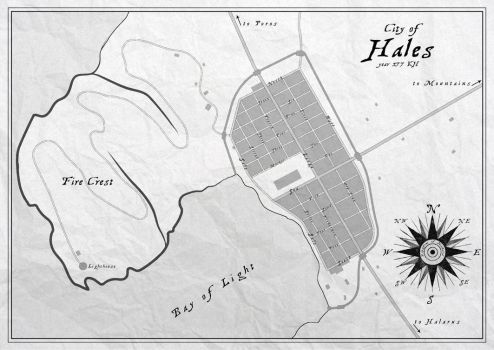 City of Hales (old name for Aley) by SalesWorlds