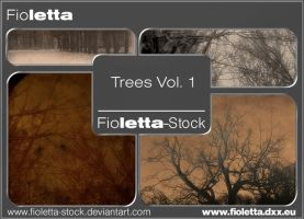 Trees Brushes Vol 1 by fioletta-stock