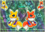 ::Two Lil ChibiRenamons:: by norngirl