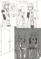 Baby Bones (Post-tale side comic) PG 47 by TrueWinterSpring