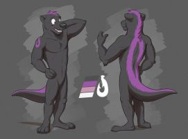 Commission: Ollie's Reference Sheet by Temiree
