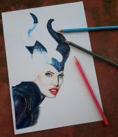 Maleficent-WIP by r2born