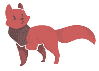 red fox by Just-a-Goat