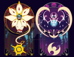 Art of the Sun and Moon by Spirit-Candy