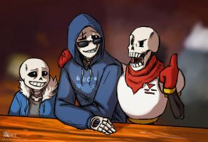 Gaster knows what he's doing! by Azany