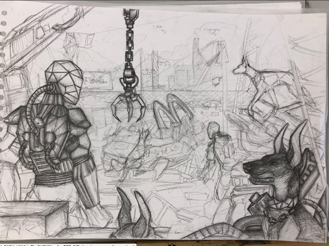Rory   Enterprise Apocalyptic WIP #2 by Cosmic-Cola