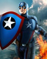 All New All Different Captain America by Timetravel6000v2
