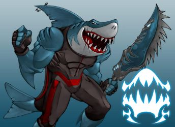 Marco The Shark by Dragonman32