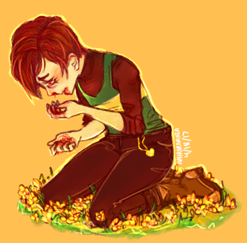 I still don't like this idea, Chara by skeleton-meme