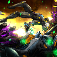T.O.M. vs The Covenant by RottenRibcage