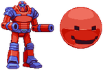 Berzerk Robot and Evil Otto sprites by PrimeOp