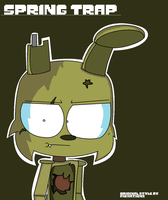 My Actual Version of Piemation's SpringTrap by xXFluffyWolfGirlXx