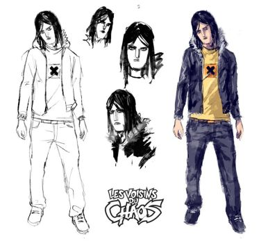 Chara design research by Tohad