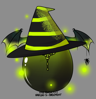Witch egg adopt by Darumemay