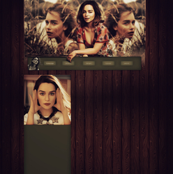 Design Emilia Clarke by VelvetHorse
