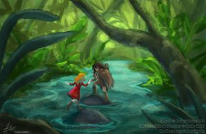 Arrietty: New World by YoukaiYume