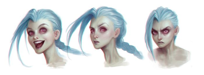 Jinx Expressions by katiedesousa