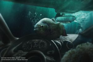 Deep down in my car by NaouriRedouane1998