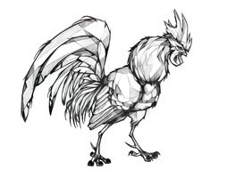 Angle Rooster by Firequill