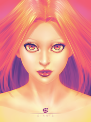 Practice Girl Portrait by sianic