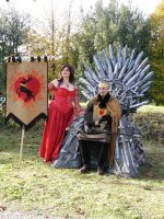 Melisandre and Stannis by CalamityJade