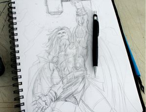 The Mighty Thor sketch