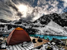Campsite by IvanAndreevich