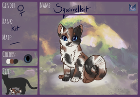 Squirrelkit by sparkeythehamster