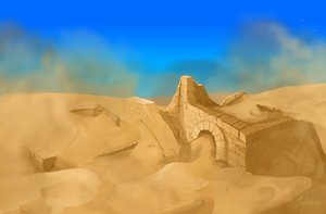 The lost city of Ophelio by Inghelene