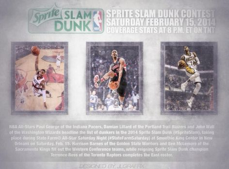 Slam Dunk Contest by jlgraffix