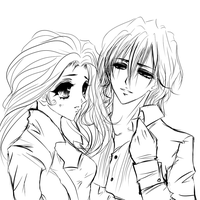 OC Lydia and Kaname- vampire knight part 1 by mariko85