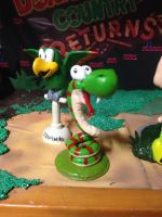 Clay Figure: Rattly the Rattlesnake by DinoeArchelon