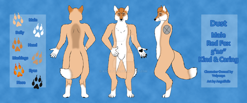Dust Reference Sheet (Commission) by Angelfelis