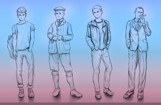Male Clothes Practice 01 by SxxN