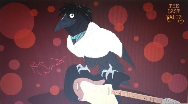Ronnie Wood, the Crow by Missilekite