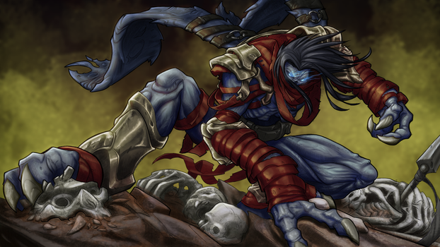Raziel (Full Color) - Drawing by Rayph by LucasSchneider