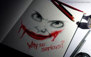 Why so serious? by NiciDraw