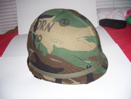 M-1 Helmet Post Vietnam 3 by Jan3090