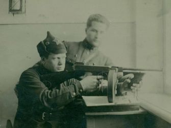 Thompson submachine gun in the Red Army by TheDesertFox1991