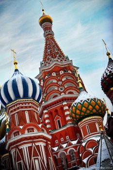 Saint Basil's Cathedral III by Raphael-Ben-Dor